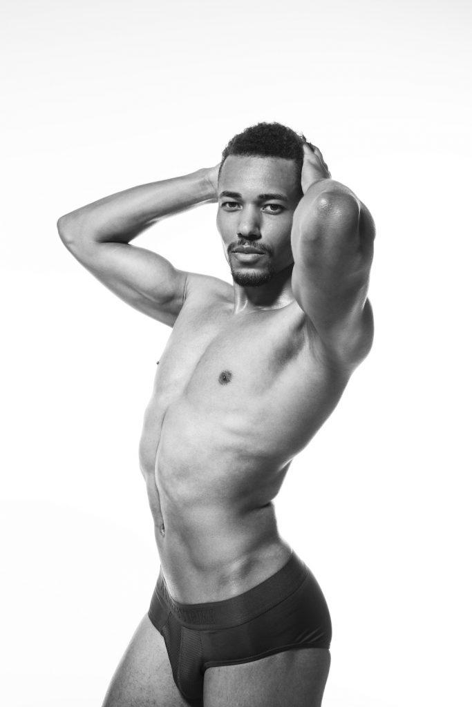 Bang and Strike underwear - model Addou by Esa Kapila