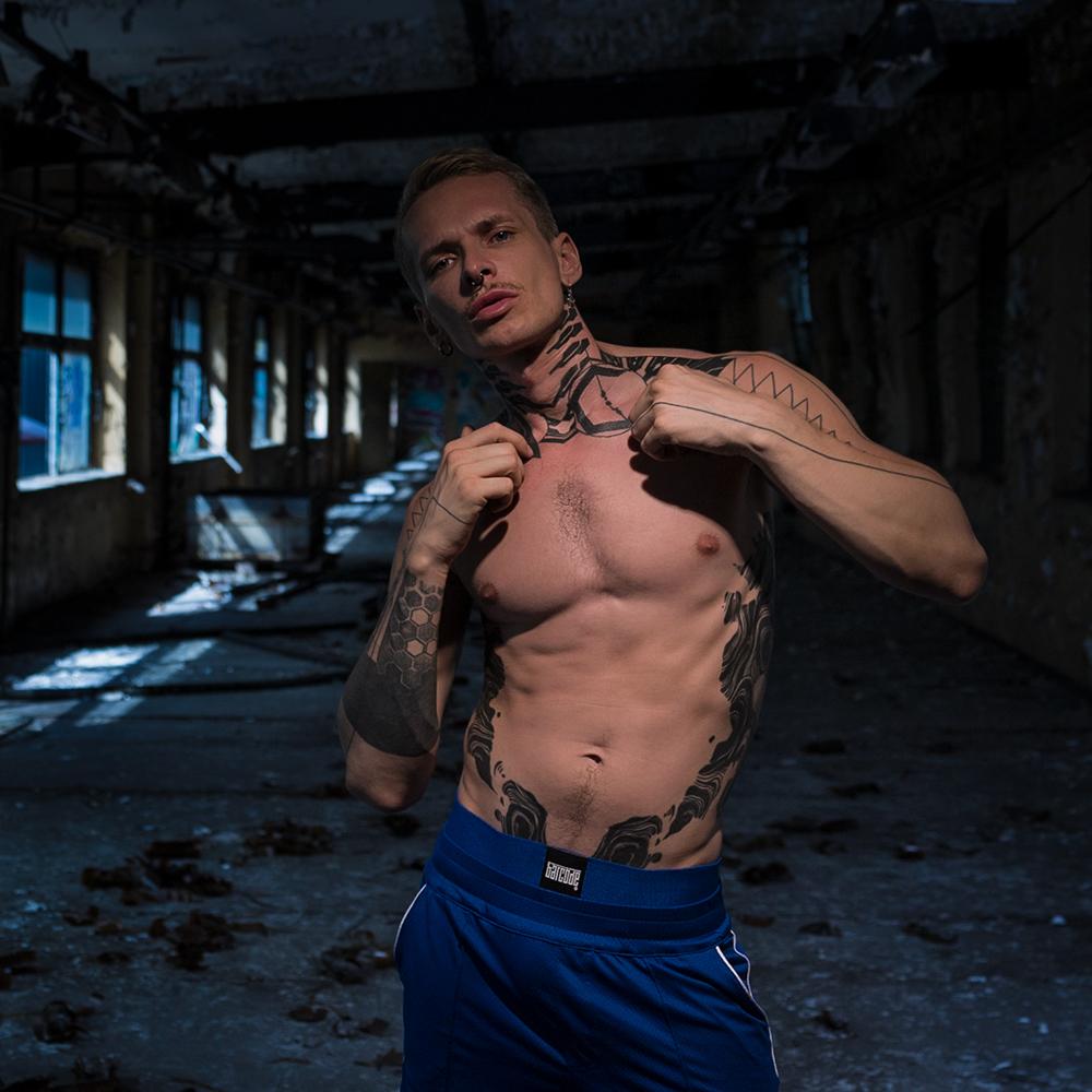 Barcode Berlin - Sergey jockstrap blue