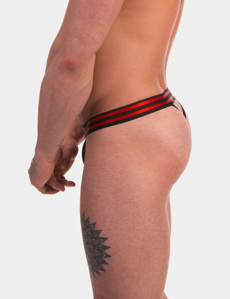Barcode Berlin underwear - Thong Claude Black
