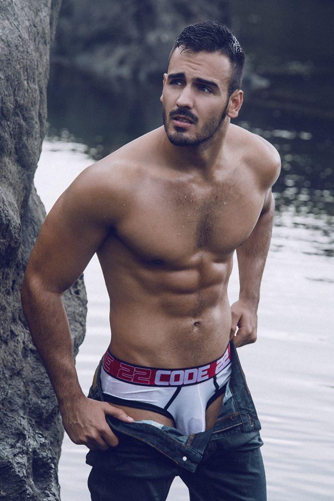 CODE 22 underwear - model Ivan by Adrian C Martin