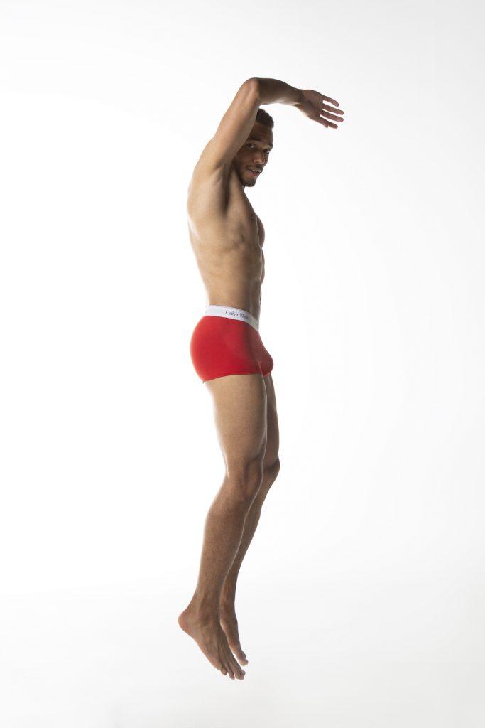 Calvin Klein underwear - model Addou by Esa Kapila