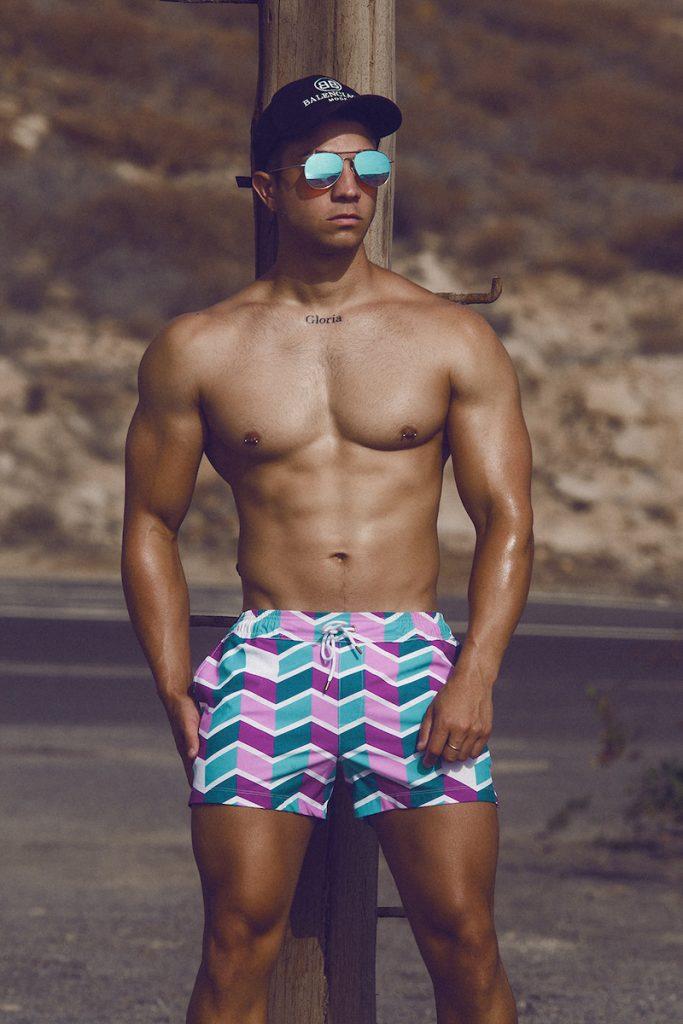 Elia Beachwear - model Adrian Afonso by Adrian C. Martin