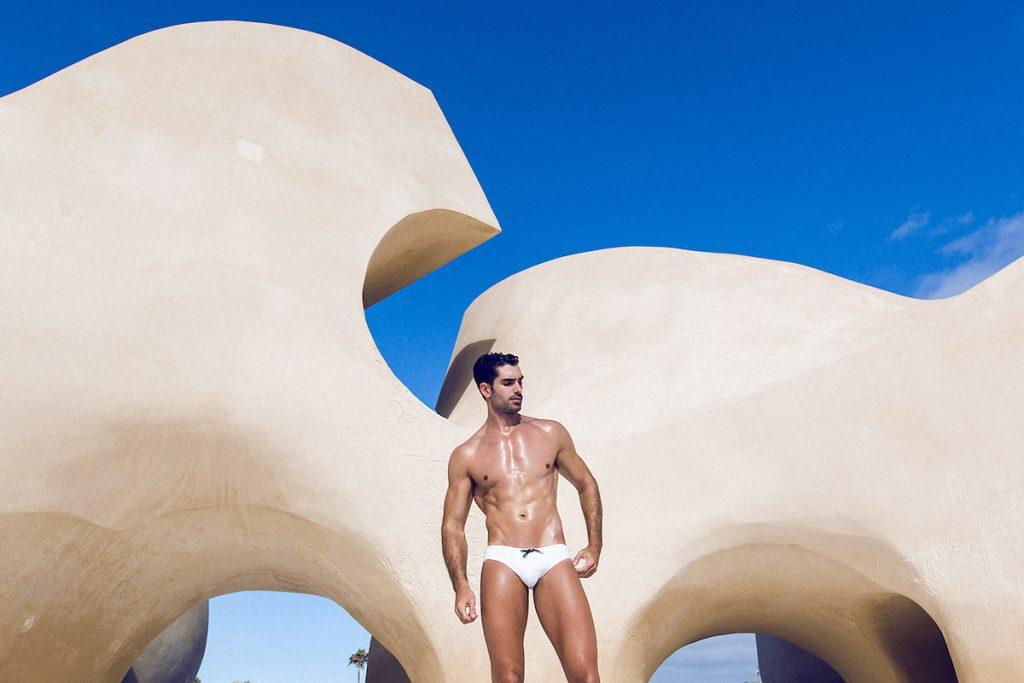 Teamm8 swimwear models Carlos and Alberto. by Adrian C Martin