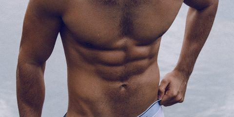 Walking Jack underwear - model Ivan by Adrian C Martin