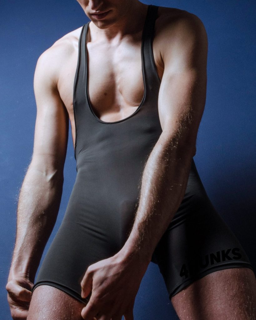4Hunks Anon Bulge King Basic Singlet-41