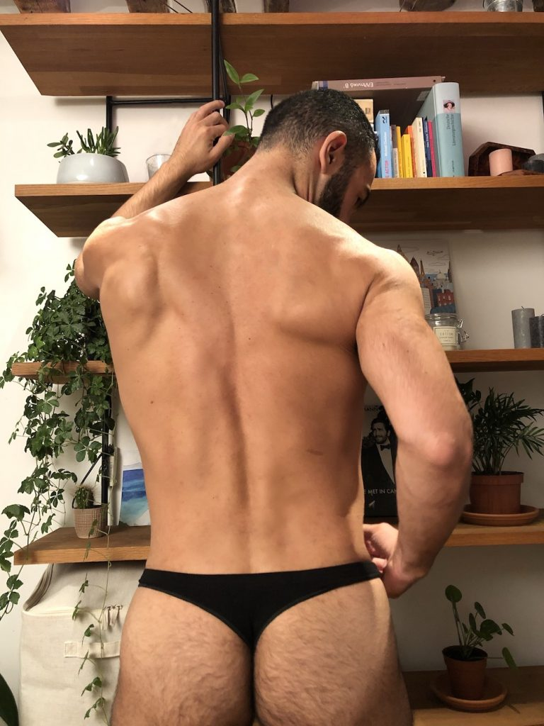 Actor Sebastian - BOX Menswear underwear