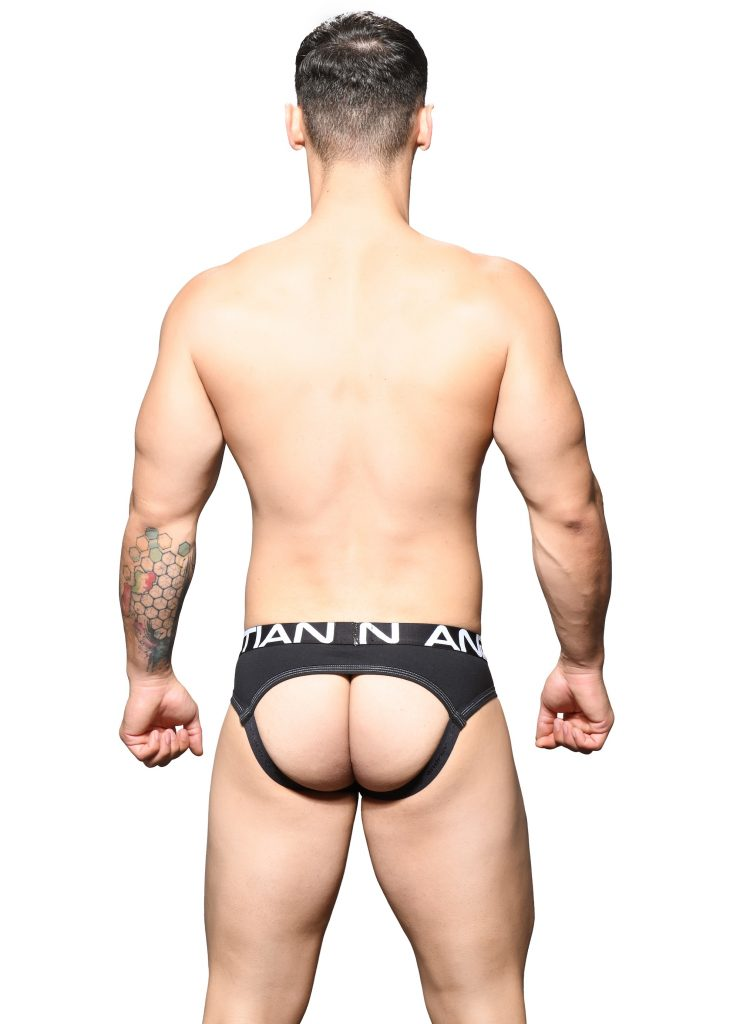 Andrew Christian - Show-It Locker Room Jock Black