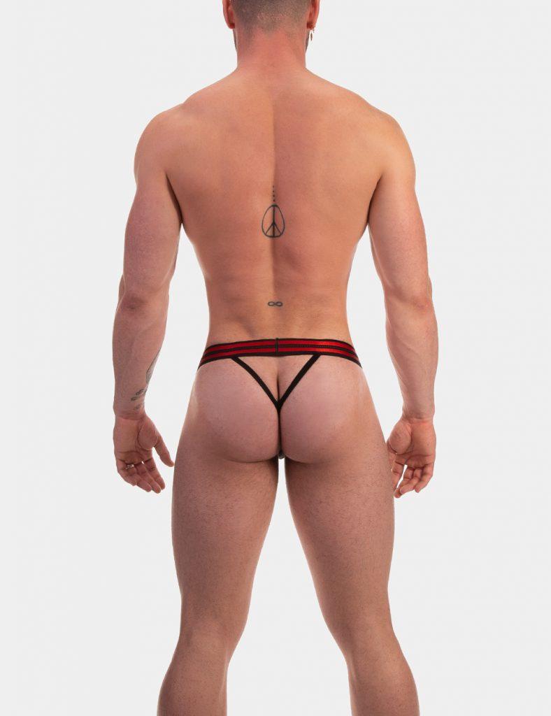 Barcode Berlin underwear - Thong Claude Black