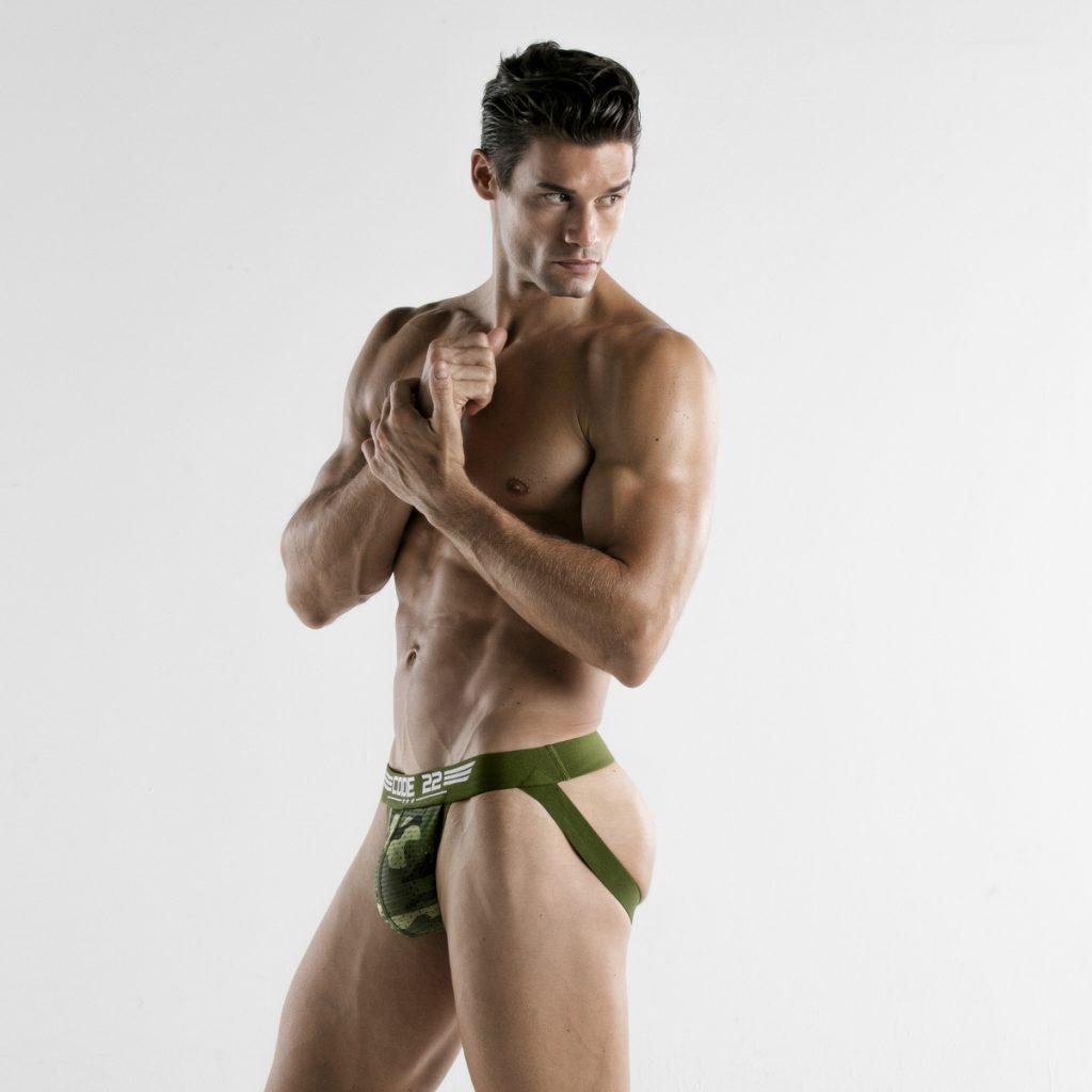 CODE 22 underwear - Army Jockstrap Camo