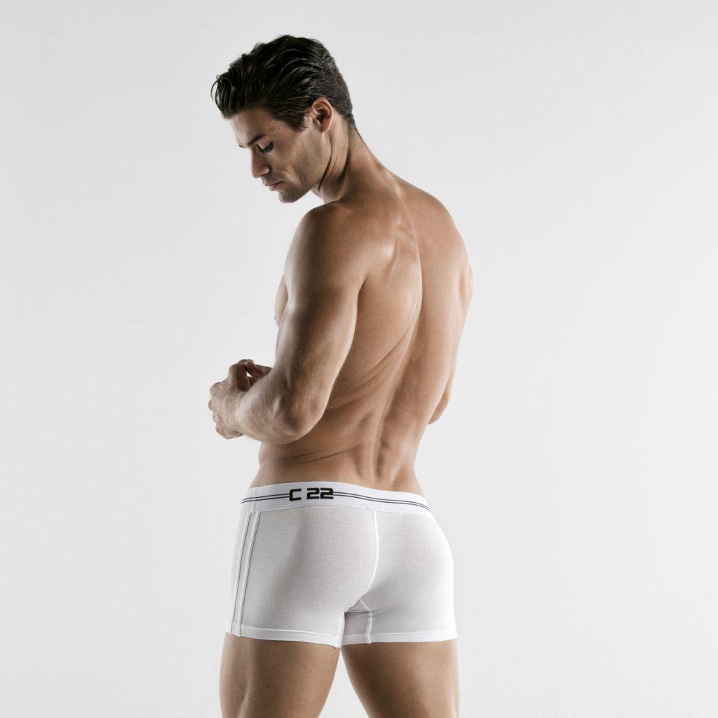 CODE 22 underwear - Essential Boxers white