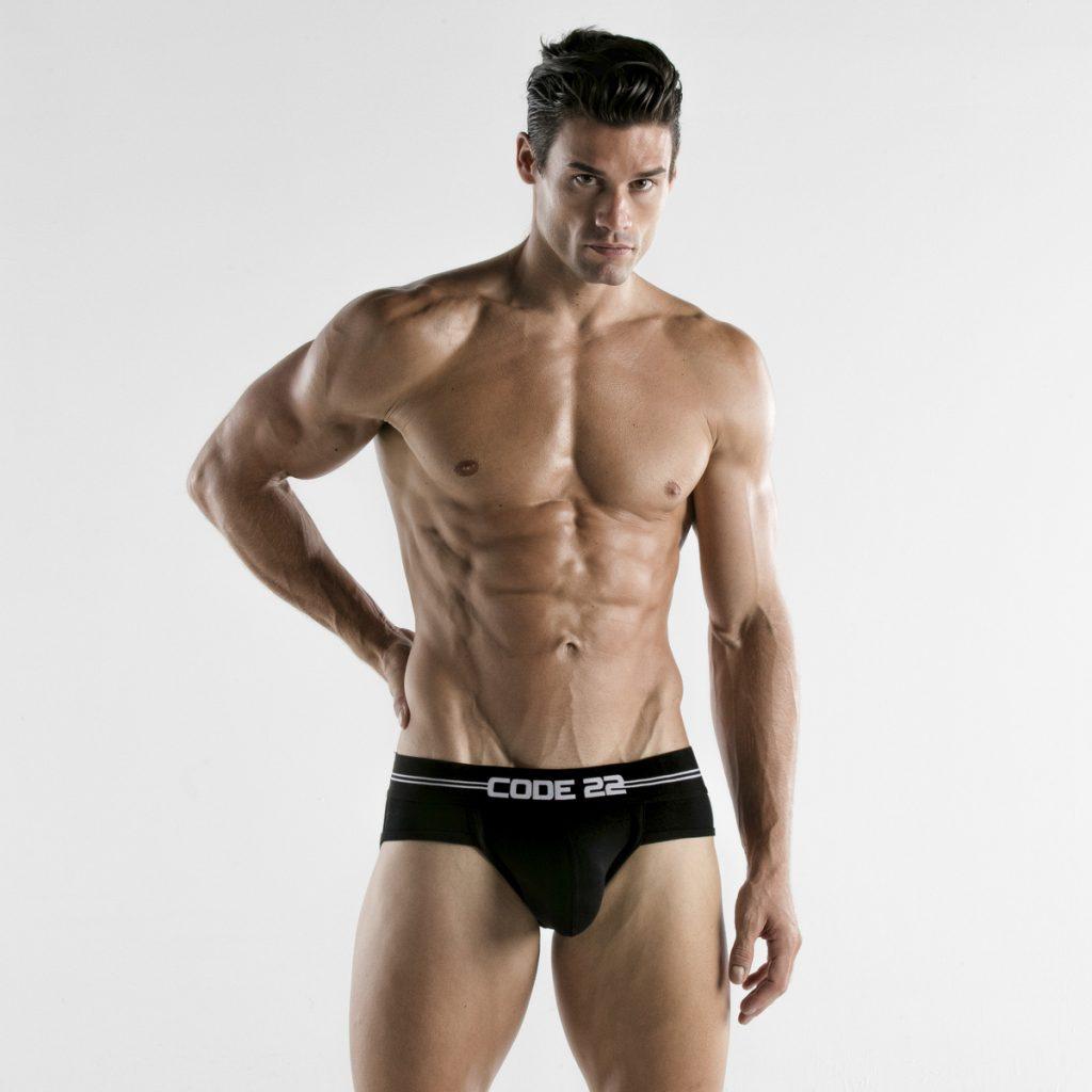 CODE 22 underwear - Essential Briefs black