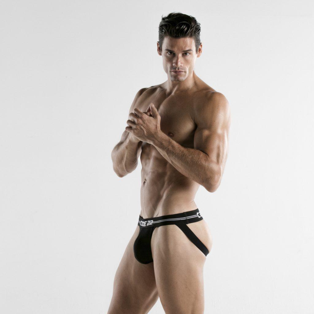CODE 22 underwear - Essential Jockstrap white