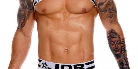 Jor FALCON Harness and Mesh Brief Underwear Set