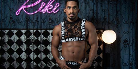 Ruben Galarreta underwear - Model Jess by Kuros