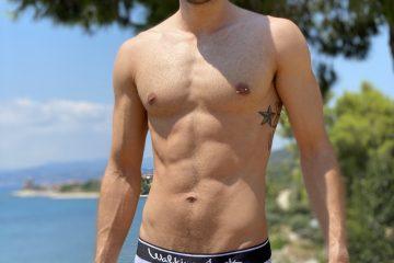 Walking Jack Fern Briefs - model Stathis for Men and Underwear