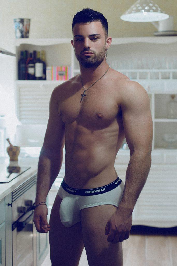 curbwear underwear - Model Andres Gaspar by Adrian C. Martin