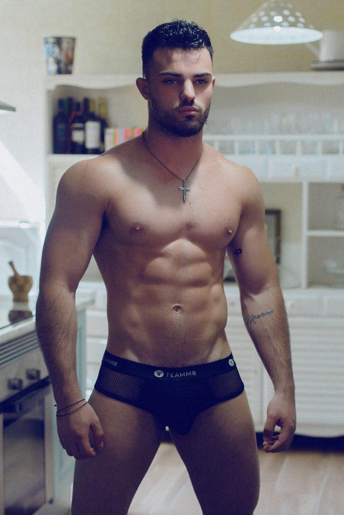 teamm8 underwear - Model Andres Gaspar by Adrian C. Martin