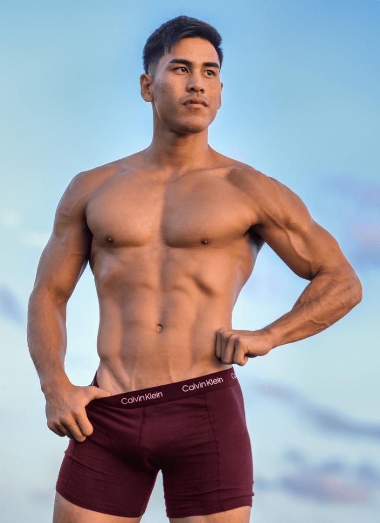 Calvin Klein underwear - Isiah C by Ke Aloha Photography