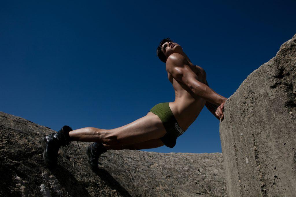 CODE 22 underwear - model Aritz by Joan Crisol