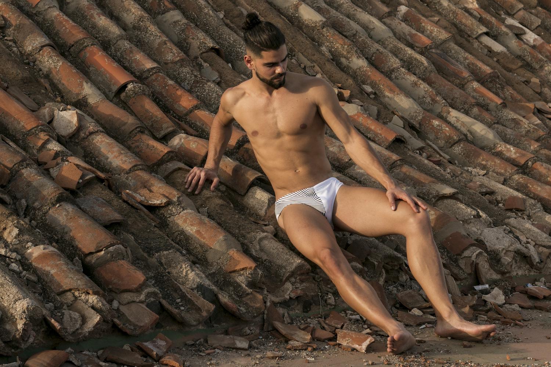Kream Wear swimwear - Model Ale Lezcano by MDZmanagement