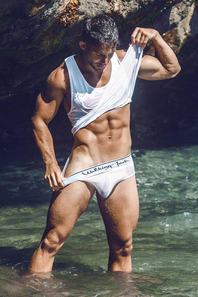 Walking Jack underwear - Model Gonzalo by Adrian C Martin