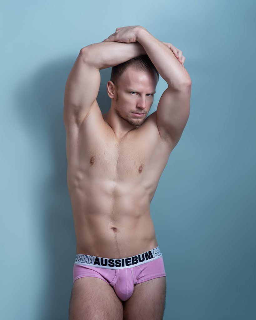aussieBum underwear Model Josef photographed by Kuros