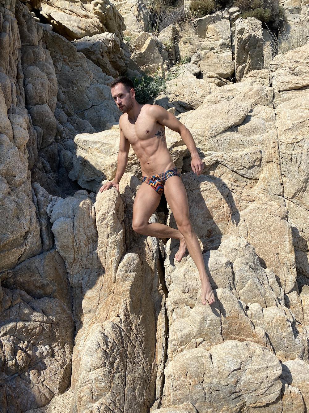 2EROS swimwear - model Stathis for Men and Underwear