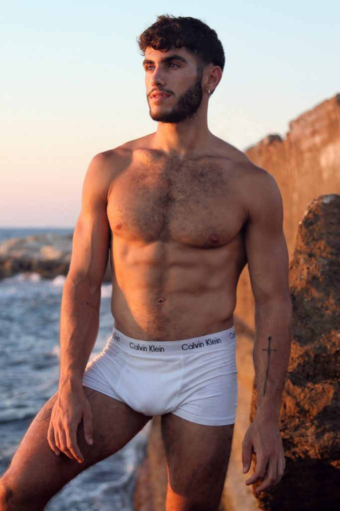 Calvin klein underwear - Model Alon by Omer Revivi
