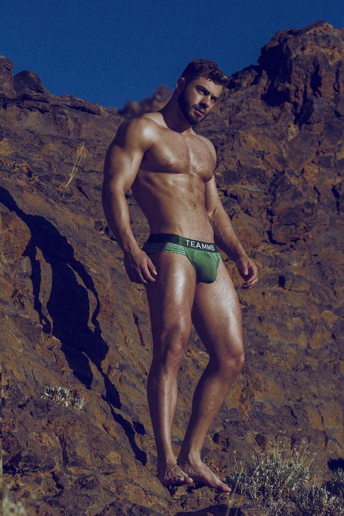 Model Kevin De La Cruz by Adrian C. Martin - underwear from various brands 01