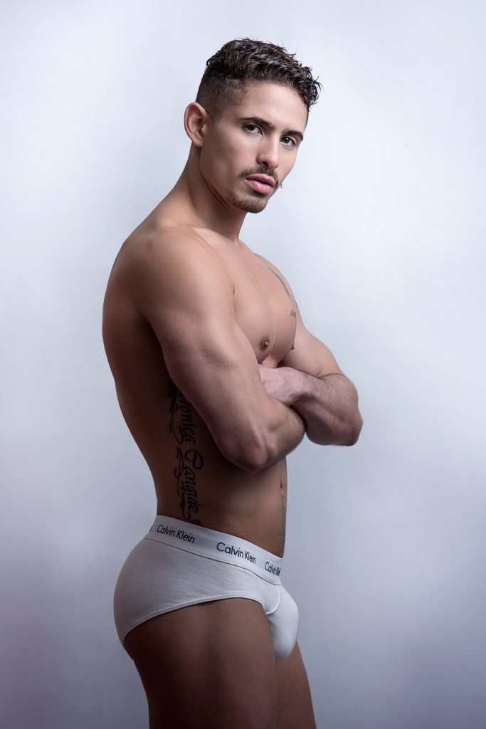 Model Néstor by Kuros - Calvin Klein underwear