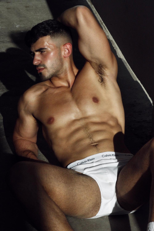 Calvin Klein underwear - Model Yoav by Omer Revivi