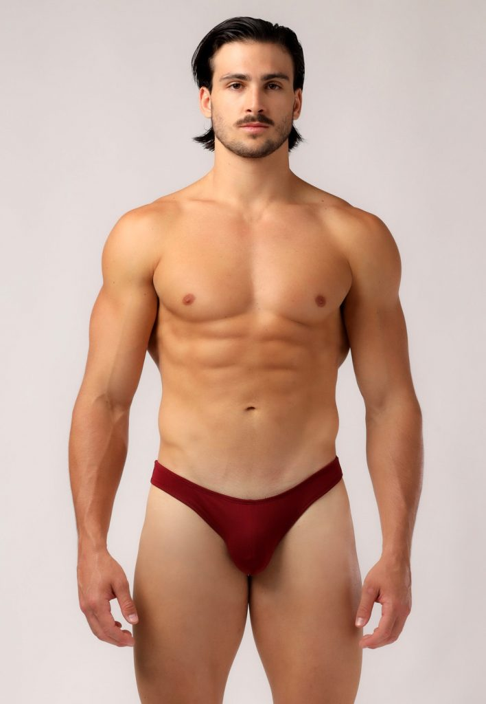 Adam Smith - Bikini Briefs - Burgundy