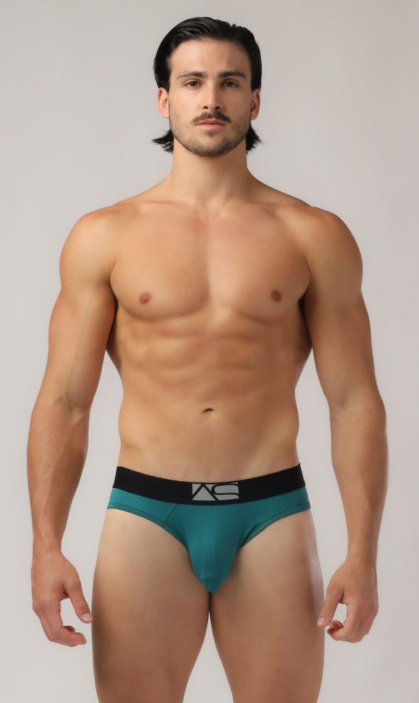 Adam Smith - Shaped Pouch Briefs - Green