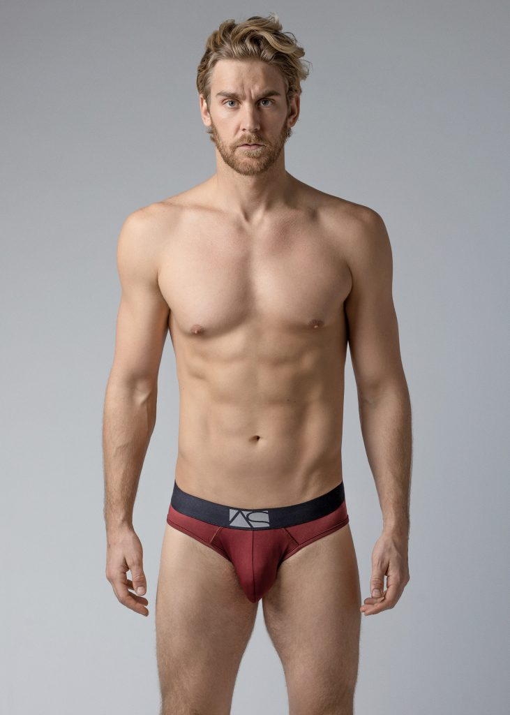 Adam Smith - Shaped Pouch Briefs - Red