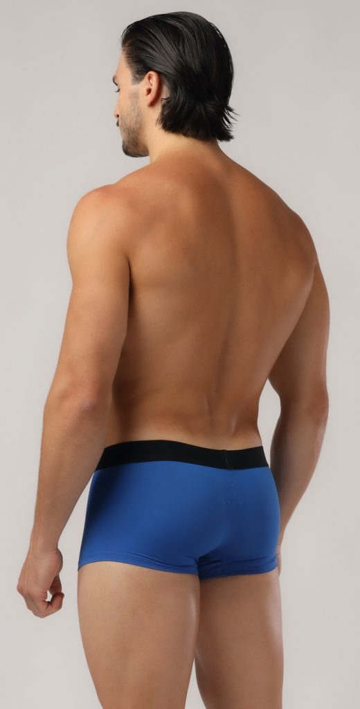 Adam Smith - Shaped Pouch Trunks - Blue