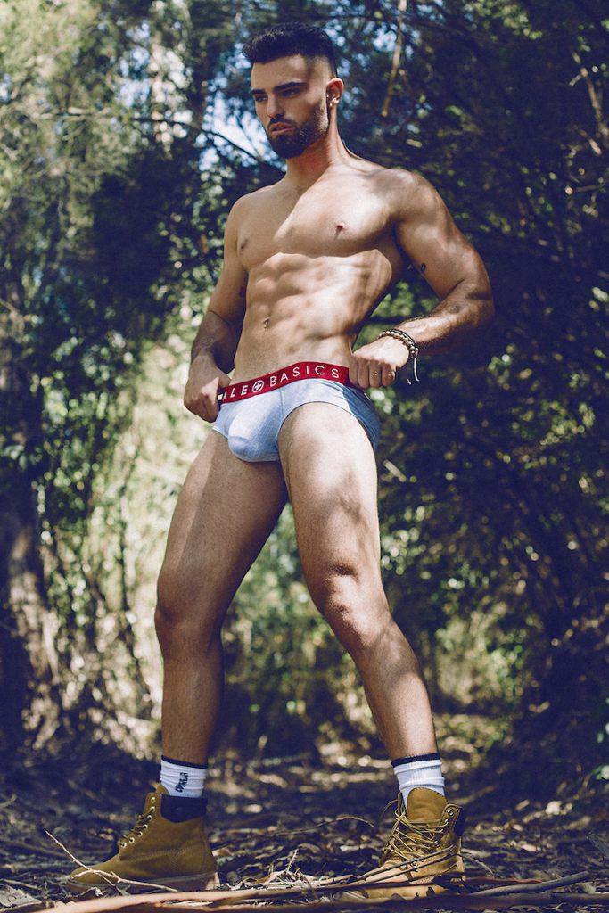 MaleBasics underwear - Model Andres Gaspar by Adrian C Martin