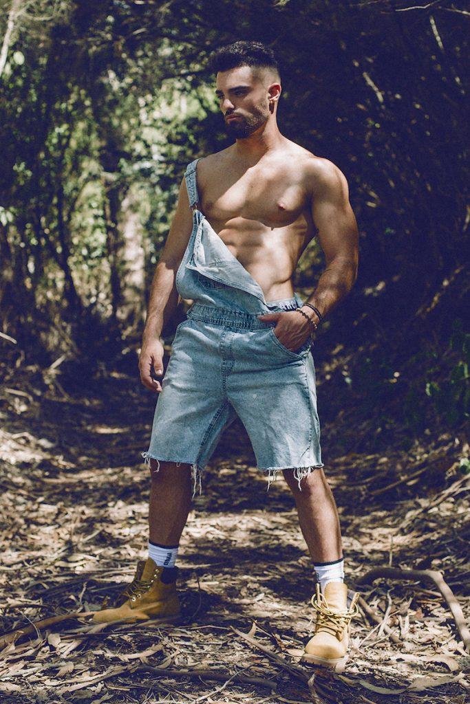 Marcuse underwear - Model Andres Gaspar by Adrian C Martin
