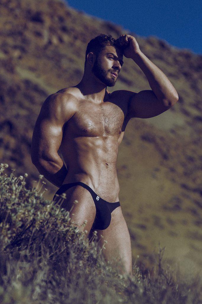 Model Kevin De La Cruz by Adrian C. Martin - underwear from various brands