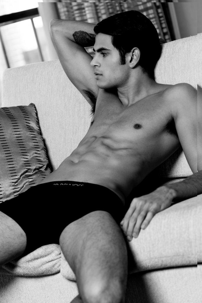 Underwear by Richard Dayhoff - Model Vicktor by Larry Pelletier