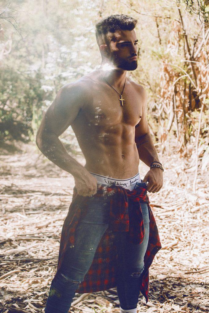 Walking Jack underwear - Model Andres Gaspar by Adrian C Martin