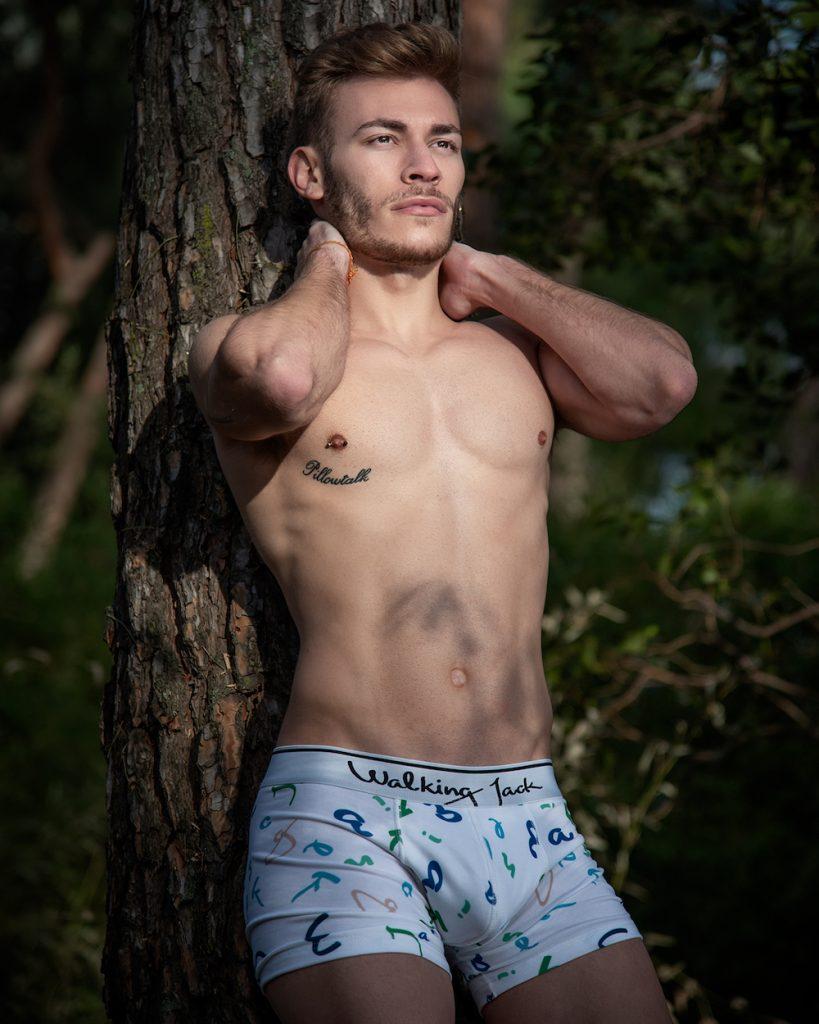Walking Jack underwear - Model Jaime by Kuros