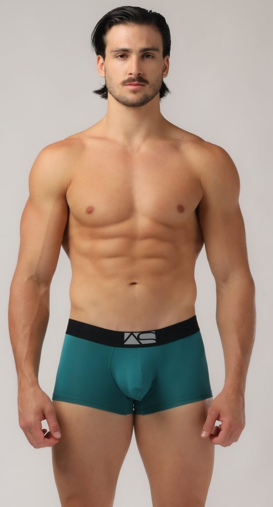 Adam Smith - Shaped Pouch Trunks - Green