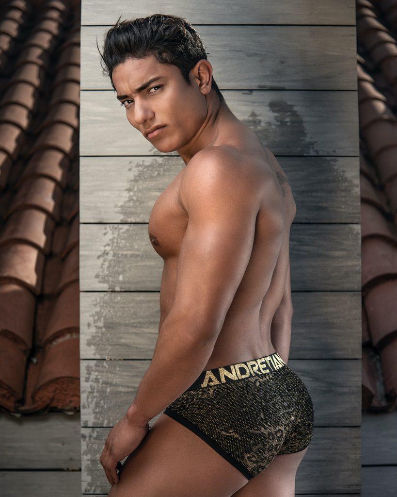 Andrew Christian underwear - model Jhonathan by Kuros