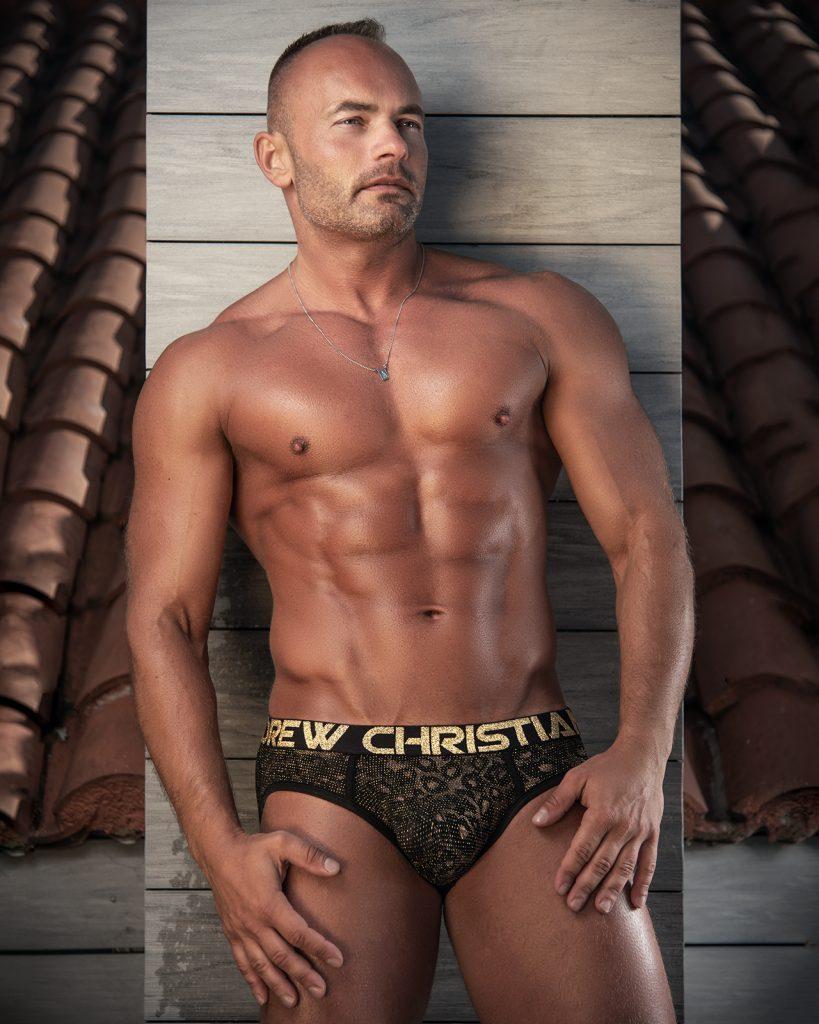 Andrew Christian underwear - model Tom by Kuros