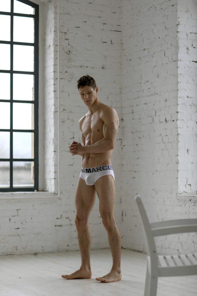 Marcuse underwear - model Ethan O'Pry by Attila Kiss