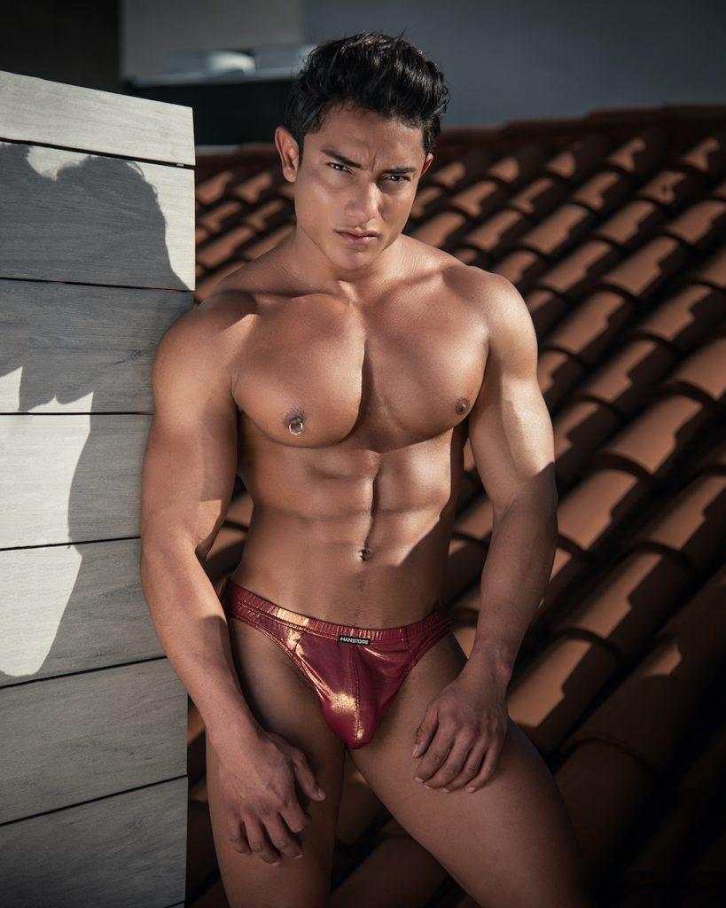 Manstore underwear - model Jhonathan by Kuros
