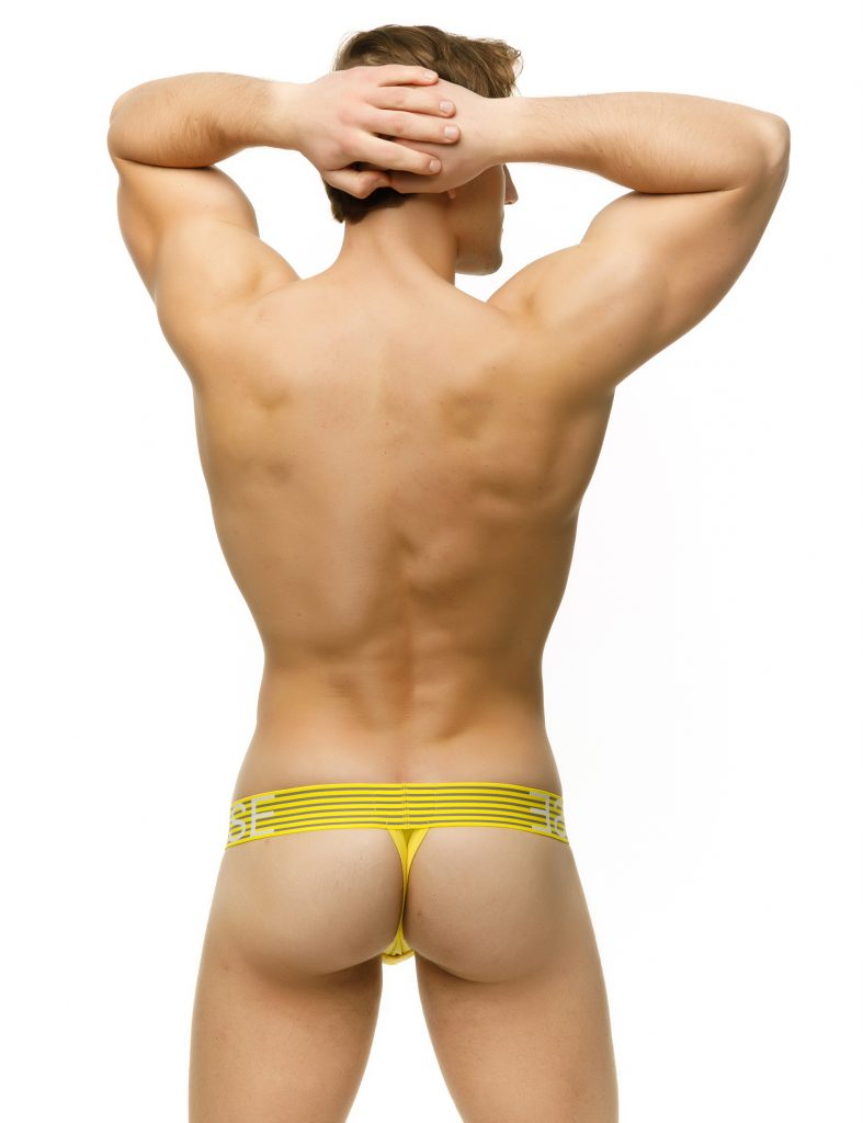 Marcuse underwear - Brighten thong yellow