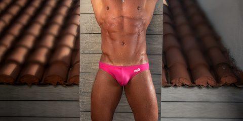 TorchPack swimwear - model Tom by Kuros