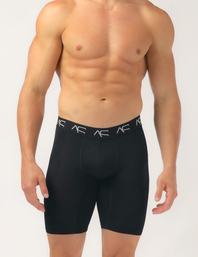 Adam Smith underwear - Mesh Long Trunks black