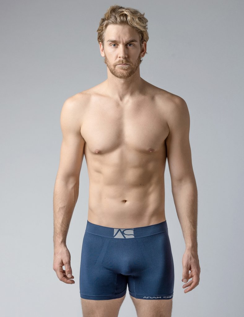 Adam Smith underwear - Seamless Best Trunks Navy Blue